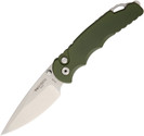 Pro Tech TR-5 Knife Green Aluminum Handle 154-CM Plain Edge PTKTR5SA1GRN