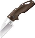 Cold Steel Tuff Lite Knife Dark Earth Handle Plain AUS-8A Stainless Plain 20LTF
