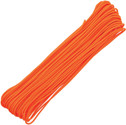 Atwood Rope Parachute Cord Tactical Paracord Neon Orange  3/32 275 lb test 100 ft RG1152