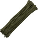 Atwood Rope Parachute Cord Tactical Paracord Olive Drab 3/32 4 strand 275 pound test 100 ft. RG1153
