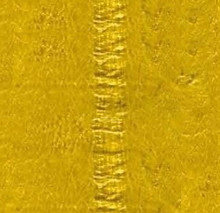 Genuine Eel Skin Panel - Yellow