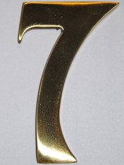 "3"" Williamsburg Brass Number #7"