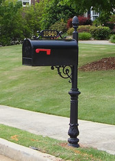 The Hampton Mailbox and Post System