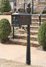 The Williamsburg Mailbox and Post System, Style 311