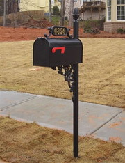 The Oak Mailbox and Post System