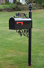 The Windsor Mailbox and Post System