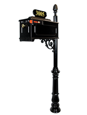 The Emerson Mailbox and Post System