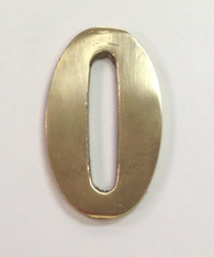 "2"" AOD Brass Number #0"
