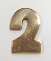 "2"" AOD Brass Number #2"