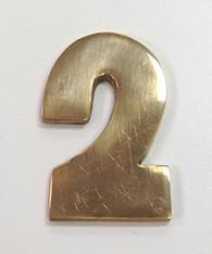 """2"""" AOD Brass Number #2"""