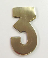 "2"" AOD Brass Number #3"