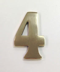 "2"" AOD Brass Number #4"