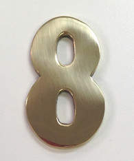 "2"" AOD Brass Number #8"