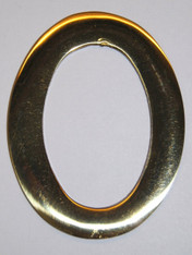 "3"" Williamsburg Brass Number #0"