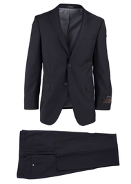 TIGLIO LIGHT BLACK NOVELLO MODERN FIT LUXE SUIT TIG1001