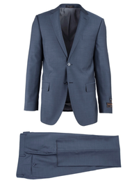 TIGLIO LIGHT BLUE HERRINGBONE NOVELLO MODERN FIT LUXE SUIT
