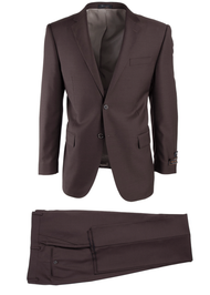 TIGLIO BROWN BIRDSEYE NOVELLO MODERN FIT LUXE SUIT