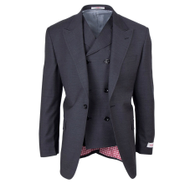 TIGLIO ROSSO CHARCOAL SAN GIOVESSE 3 PIECE SUIT