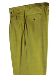 Tiglio Olive Green Wide Leg Pants/Slacks (876601-4107)