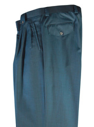 Tiglio Teal Wide Leg Pants/Slacks (876645-4106)