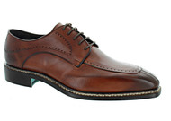 Emilio Franco Cognac Split Toe Oxford Shoes (B16189-COGNAC)