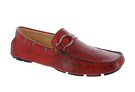 BACCO BUCCI TIGER II RED DRIVER LOAFER SHOES (TIGERII-RED)