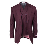 TIGLIO ROSSO BURGUNDY SAN GIOVESSE  3 PIECE SUIT