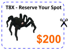 T8X - Reserve Your Spot