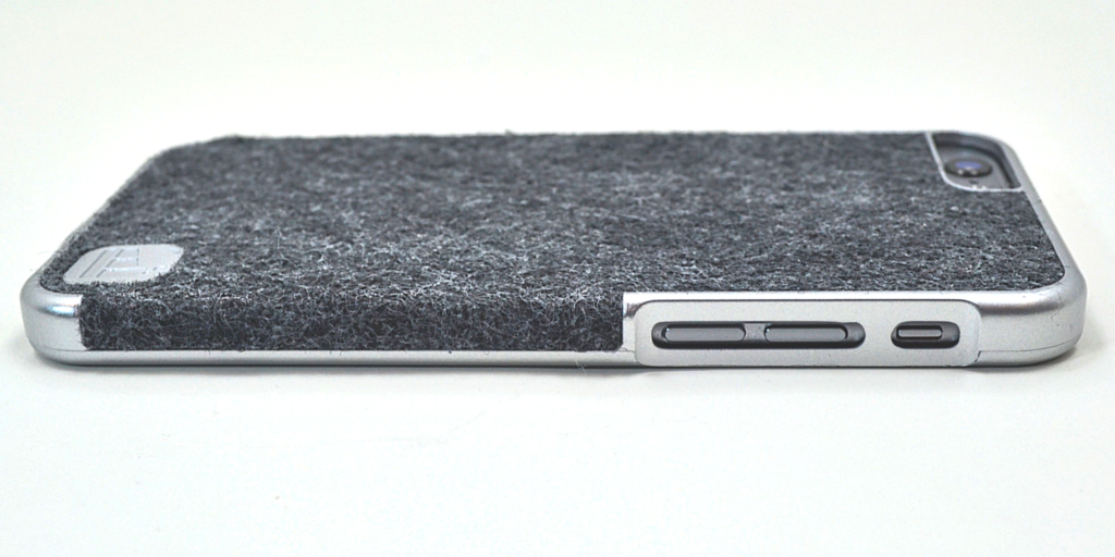 The Contour of LuxBox Case Enhances the grip and feel of the iPhone in your hand