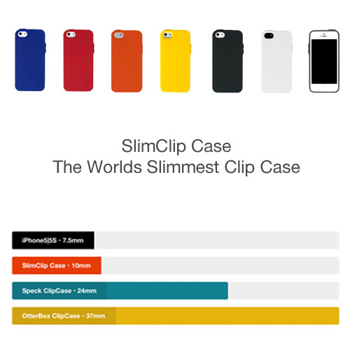 Compare SlimClip Case to Traditional Clip Cases   See why SlimClip Case is the Slimmest Clip Case