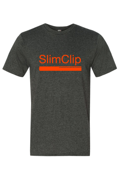 SlimClip Case • Heathered Grey Tee Super Soft 90% Cotton | 10% Poly Blend