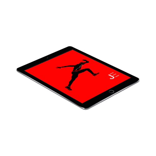 Jarret Eaton • Face of SlimClip • iPad Graphic Image Download