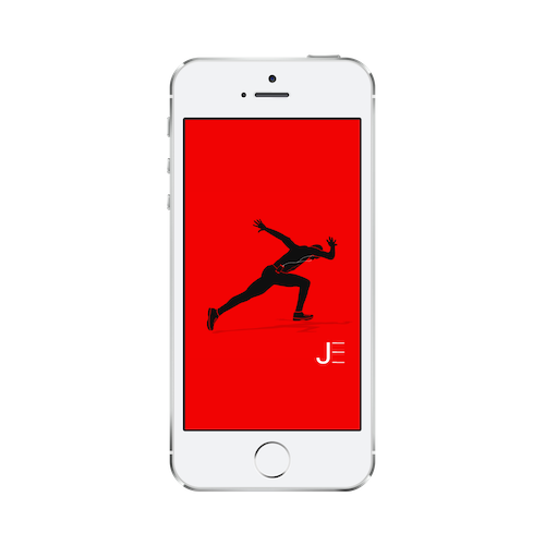 Jarret Eaton • Face of SlimClip • Graphic Image Download iPhone 5/5S