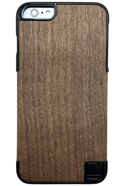 LuxBox Case Chosen 1.2 Black for iPhone 6 PLUS & iPhone 6S PLUS with real walnut wood veneer