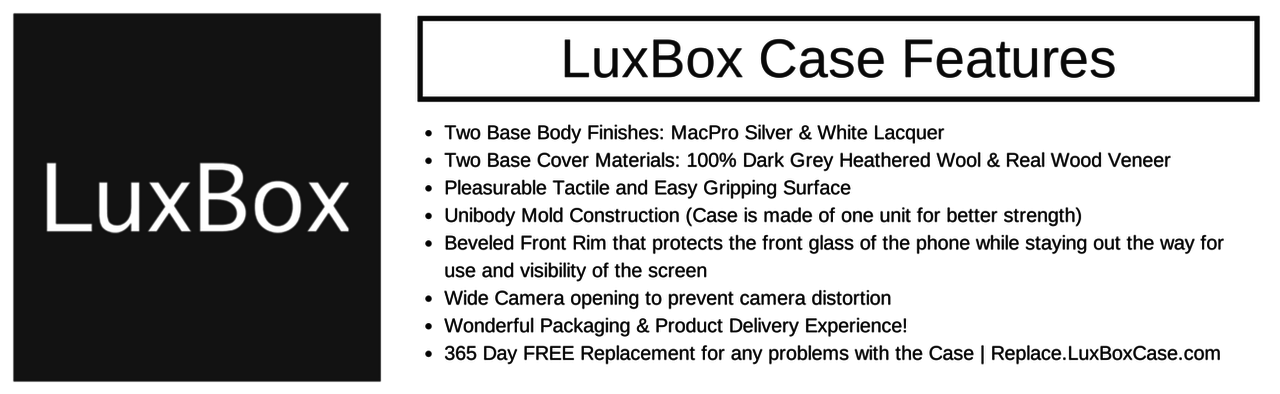 LuxBox Case Features