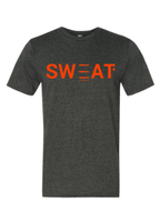 SWEAT Magazine T-shirt • Heathered Grey Tee Super Soft 90% Cotton | 10% Poly Blend