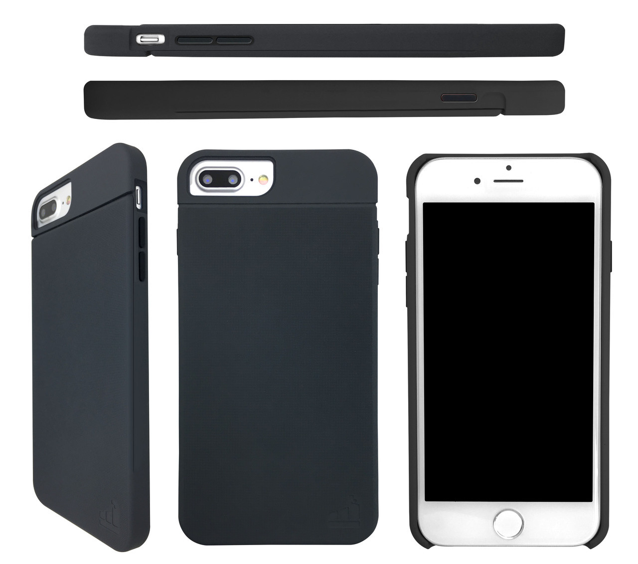 SlimClip Case V4 • STEADY (Gray) for iPhone 7 | iPhone 6 | iPhone 6S