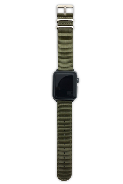 Military Green Apple Watch Straps 42mm