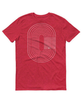 SlimClip Case TRACK Tee • RED