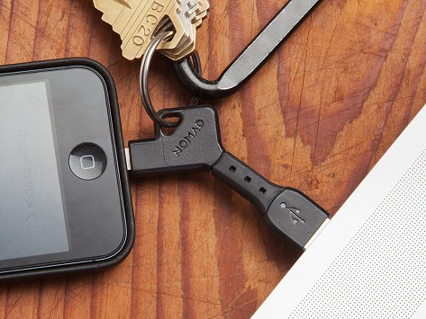 Nomad Key - lightning keychain for iPhone and iPad