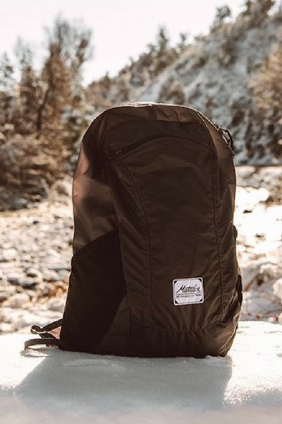 Perfect for travel, day trips, and hikes.  Packs away to fit in the palm of your hand.
