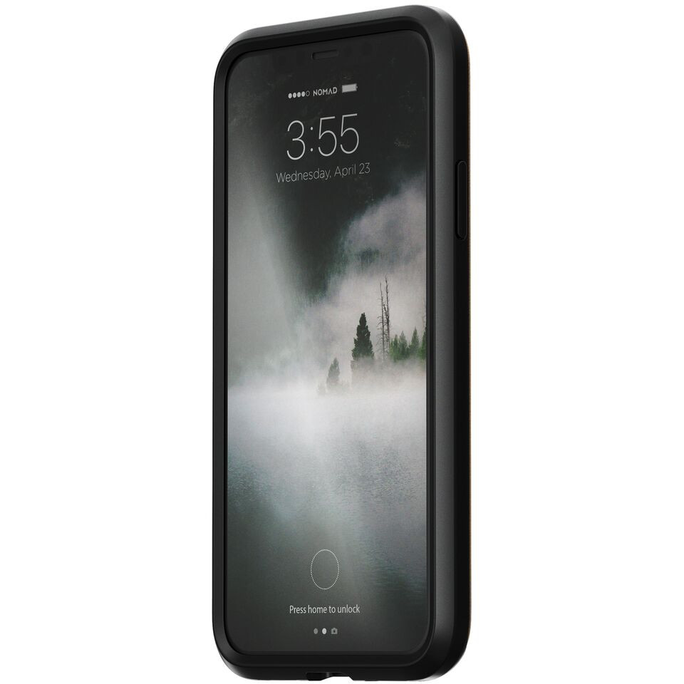 The Rugged Leather Case has a 10ft drop protection that will ensure your phone stays in one piece. No more cringing when you accidentally drop your phone.
