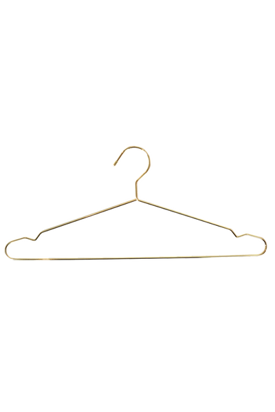 LUX Gold Clothing Hangers - pack of 5