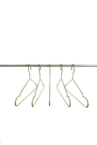 elevate the luxury of your wardrobe instantly with LUX Gold hangers