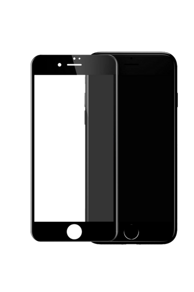 theWTFactory ScreenGuard for iPhone 6/6S+ PLUS - BLACK Contoured screen cover that is contoured the the curved edge of the iPhone screen