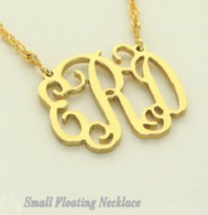 Small Monogrammed Necklace