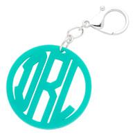 Acrylic Filigree Keychain