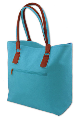 Turquoise Scotch Faux Suede