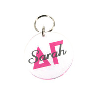 Acrylic Sorority Key Chain