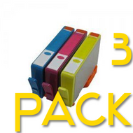 3 Pack HP 564 XL Compatible Ink Cartridges (Old Generation)